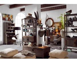 Luxusná dizajnová obývačka INDUSTRIAL