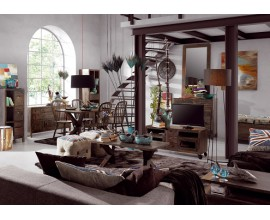 Luxusná štýlová obývačka INDUSTRIAL II