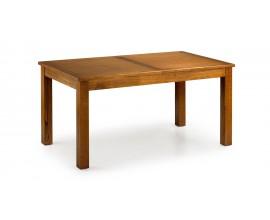 Luxusný rozkladací jedálenský stôl z masívu (roz.220cm) Flash