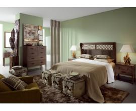 Luxusná spálňa Spartan v retro štýle