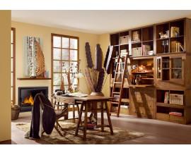 Luxusná elegantná pracovňa Star z masívneho dreva