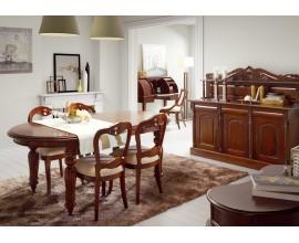 Koloniálna luxusná jedáleň M-VINTAGE z masívneho mahagónového dreva