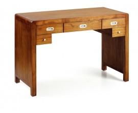 Koloniálny luxusný písací stôl z masívu Flash