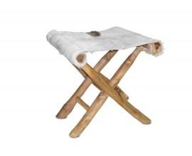 Dizajnová stolička so sedadlom z kravskej kože