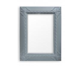 Štýlové zrkadlo PALACE WASH šedé 120x90cm
