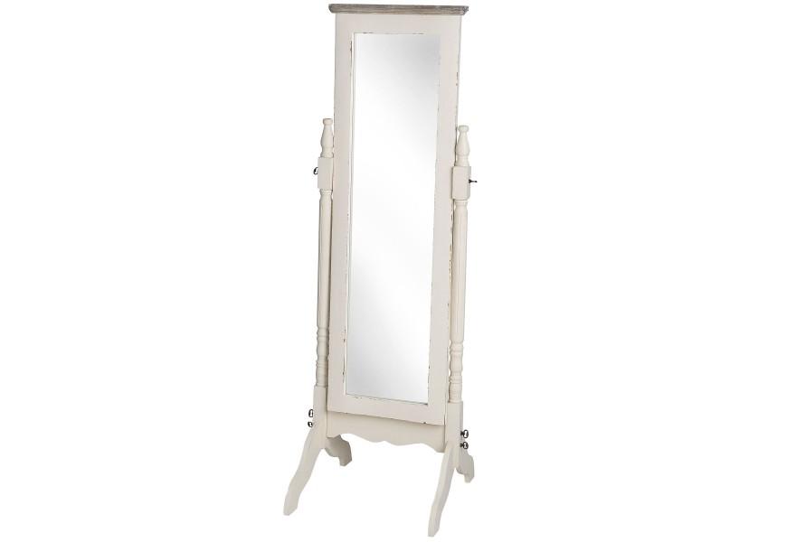 Šatníkové zrkadlo PORTO so stojanom
