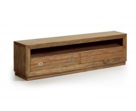 Luxusný štýlový TV stolík s dvomi zásuvkami Merapi