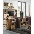 Luxusný TV stolík s dvomi zásuvkami Merapi