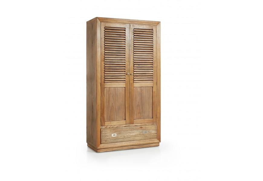 Luxusná štýlová skriňa + botník Merapi v koloniálnom štýle