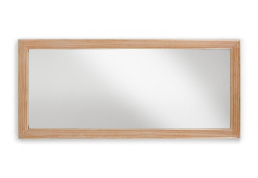 Elegantné zrkadlo Bromo 180x80 je vyrobené z exotického dreva Mindi