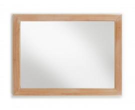 Luxusné elegantné zrkadlo z masívu Bromo 120x90cm