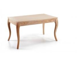 Luxusný jedálenský stôl z masívu rozkladací (roz.200cm) Bromo