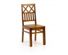 Masívna jedálenská stolička Star z dreva mindi 99cm