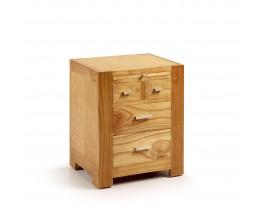 Luxusný štýlový nočný stolík s výsovnou doskou Natural