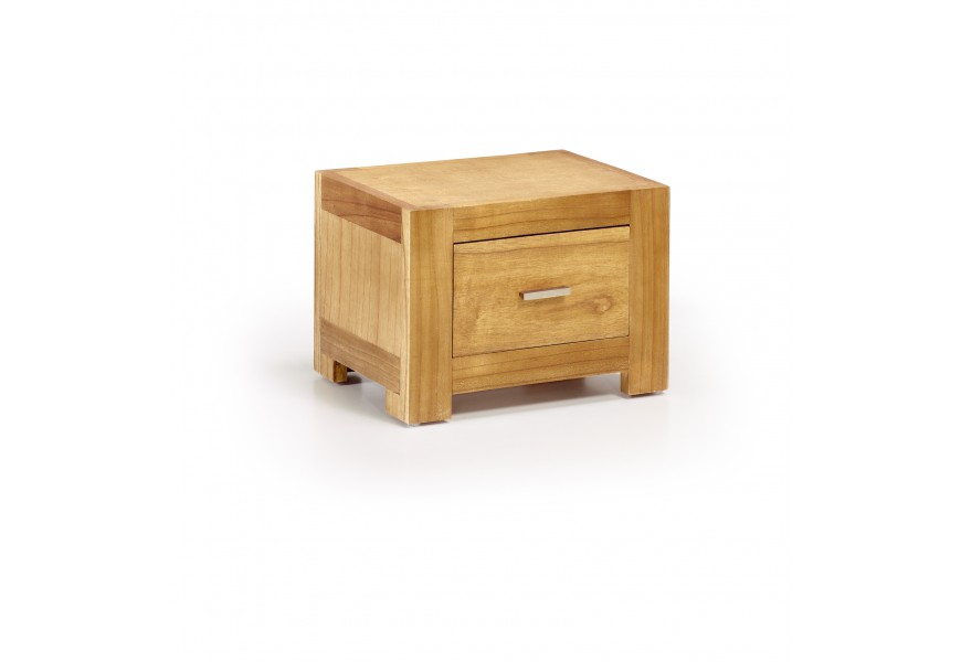 Luxusný štýlový nočný stolík so zásuvkou Natural