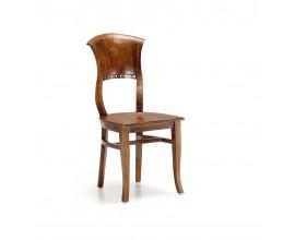 Rustikálna jedálenská stolička Star z dreva mindi 94cm