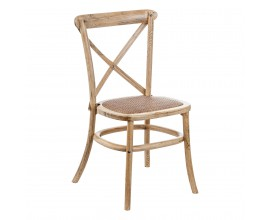 Štýlová stolička CRUCETA NATURAL