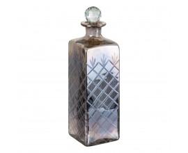 Strieborná ozdobná flaša