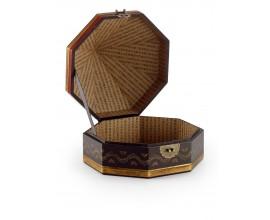 Kožená krabička SAM pyramida 30cm