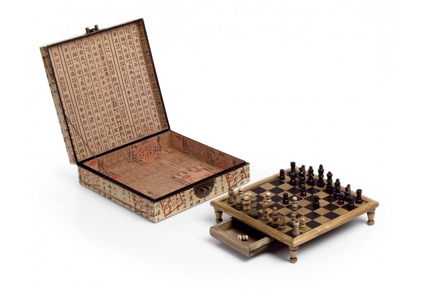 Kožená krabička SAM šach
