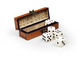 Kožená krabička SAM / kocky