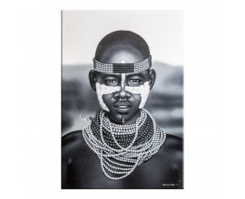 """Štýlový obraz """"Kalungský muž"""" 150x100"""