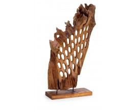 Štýlová drevená dekorácia Erosi 120cm