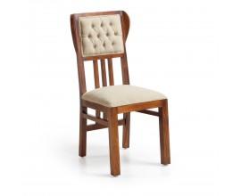 Luxusná masívna stolička čalúnená Flamingo