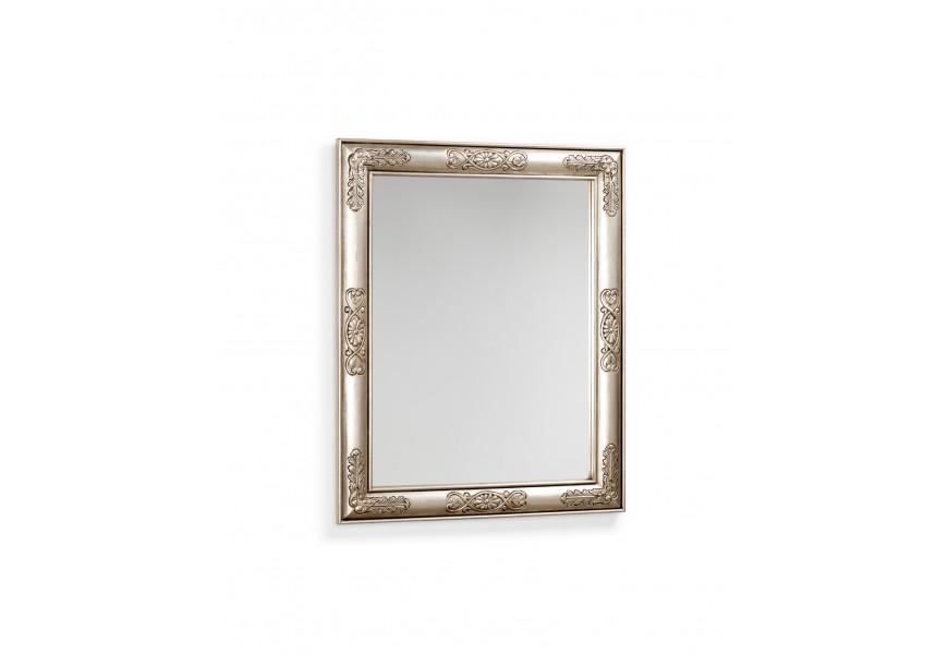 Štýlové zrkadlo s kvetmi Plata