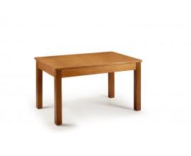 Elegantný jedálenský stôl Star z masívneho dreva mindi s rozkladacím mechanizmom 200cm