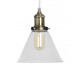 Závesná lampa GLASS CONE
