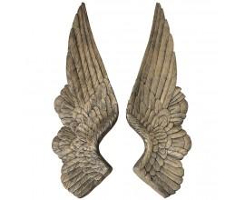 Dekorácia anjelské krídla (2 ks)