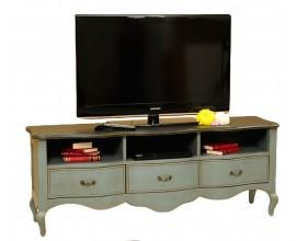 TV stolík CUERO s tromi zásuvkami