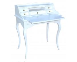 Písací stôl SEARCY  so šiestimi zásuvkami a výsuvnou doskou