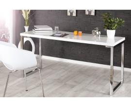 Elegantný moderný pracovný stôl White Desk 140 cm biely