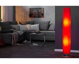 Štýlová moderná stojaca lampa Paris 120cm červená