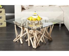 Štýlový originálny konferenčný stolík Driftwood 80cm