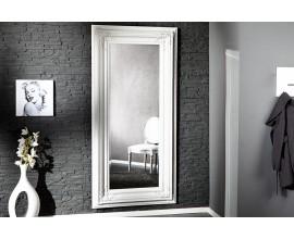 Luxusné elegantné renesančné zrkadlo Cheval 180 cm biele