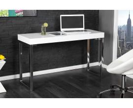 Luxusný moderný písací stôl 120x40cm biela
