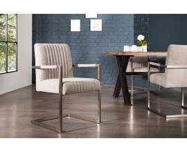 Dizajnová jedálenská stolička Inspirativo šedá