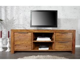 Elegantný štýlový masívny TV stolík Massive 135cm