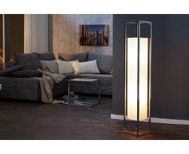 Luxusná dizajnová stojaca lampa Agapune 120 cm biela