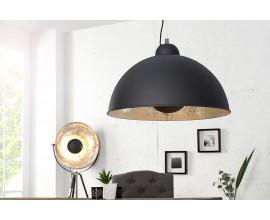 Dizajnové elegantné svietidlo Studio čierne/strieborné