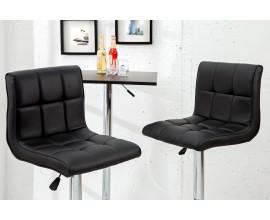 Barová stolička Modena 90-115 cm čierna