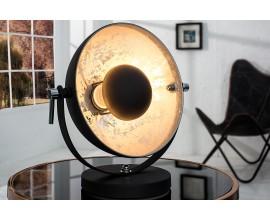 Dizajnová jedinečná stolná lampa Studio 40 cm strieborná