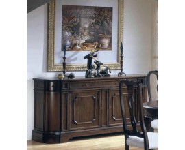 Rustikálny luxusný príborník Nuevas formas z dreva s dvomi dvierkami 184cm