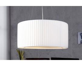 Štýlové jedinečné závesné svietidlo Sobrieta 65cm biela