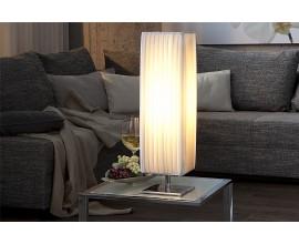 Dizajnová moderná stojaca lampa Krieda 60 cm biela