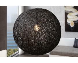 Moderné závesné svietidlo Cocoon čierne
