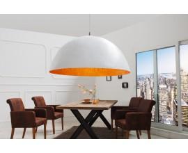Dizajnové moderné závesné svietidlo Glow zlaté 70 cm